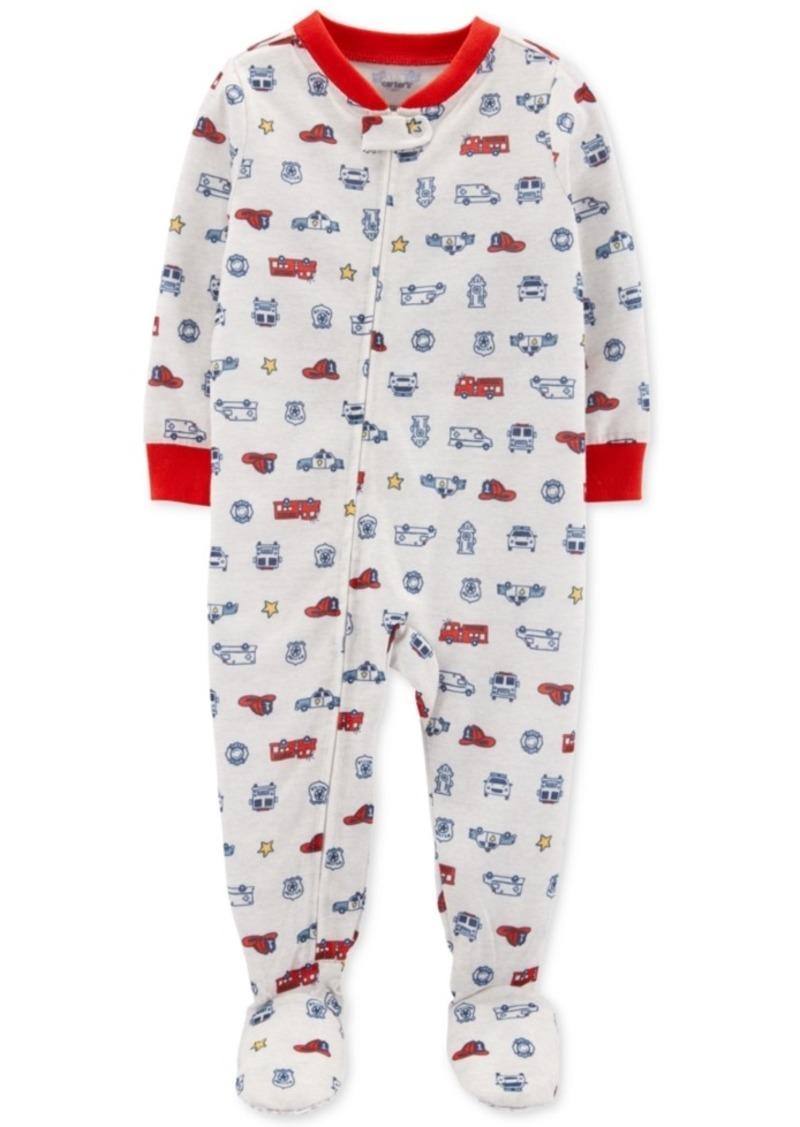 Carter's Baby Boys 1-Pc. Hero Vehicle Pajama