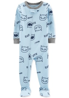 Carter's Baby Boys 1-Pc. Monster-Print Pajama