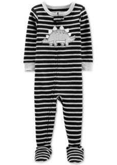 Carter's Baby Boys 1-Pc. Striped Dinosaur Cotton Pajama