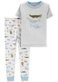 Carter's Baby Boys 2-Pc. Cotton Pajamas
