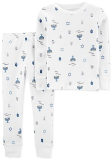 Carter's Baby Boys 2-Pc. Cotton Printed Pajamas Set