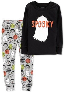 Carter's Baby Boys 2-Pc. Halloween Spooky Cotton Snug-Fit Pajamas Set