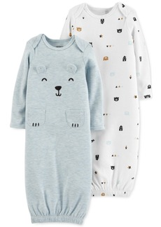 Carter's Baby Boys 2-Pk. Bear Sleeper Gowns