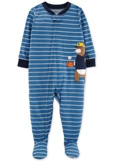 Carter's Baby Boys Baseball Bear Footed Pajamas
