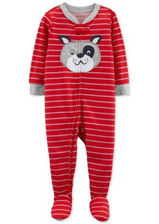 Carter's Baby Boys Bull Dog Footed Pajamas