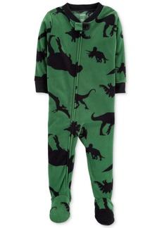 Carter's Baby Boys Dino-Print Footed Pajamas