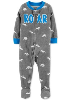 Carter's Baby Boys Dino Roar Fleece Footed Pajamas