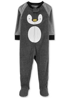 Carter's Toddler Boys Fleece Penguin Pajamas