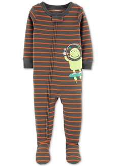 Carter's Baby Boys Footed Alien Pajamas