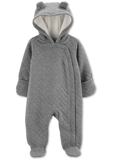 Carter's Baby Boys Hooded Quilted Bunting