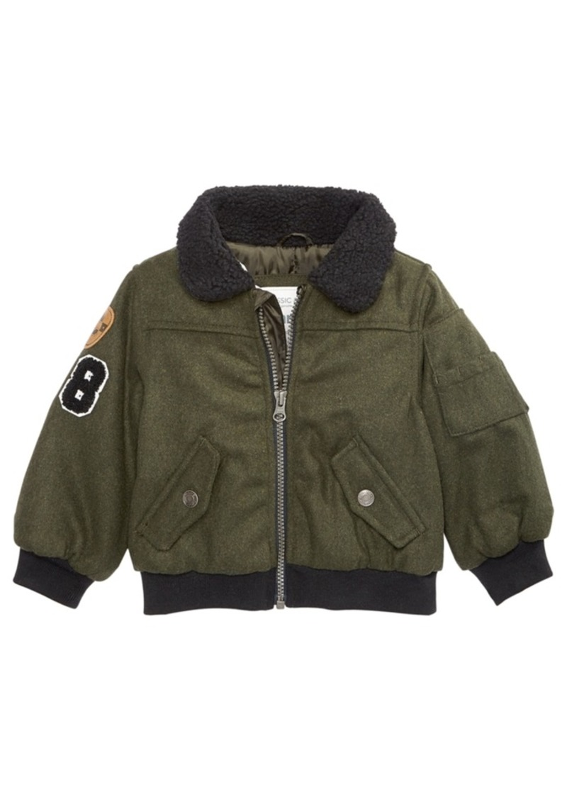 41be1c5f3d17 Carter s Carter s Baby Boys Patches Bomber Coat