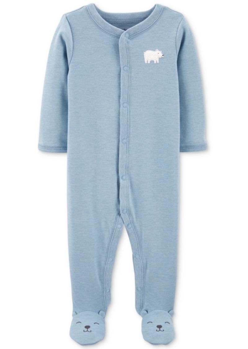 Carter's Baby Boys Polar Bear Footed Pajamas