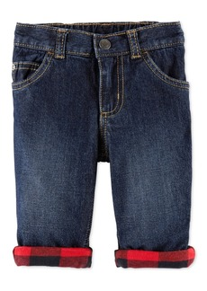 Carter's Baby Boys Pull-On Cuffed Cotton Jeans