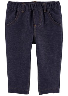 Carter's Baby Girls Pull-On Knit Pants