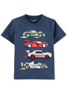 Carter's Baby Boys Race Car-Print Cotton T-Shirt