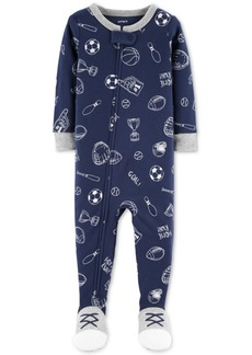 878247d1a SALE! Carter s Carter s 1-Pc. Rocket-Print Footed Pajamas