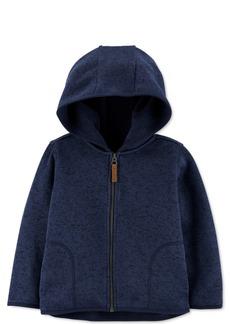 Carter's Baby Boys Sweater-Knit Zip-Up Hoodie