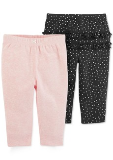 Carter's Baby Girls 2-Pk. Leggings