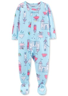 9bf2028aa On Sale today! Carter's Carter's 1-Pc. Dinosaur-Print Footed Pajamas ...