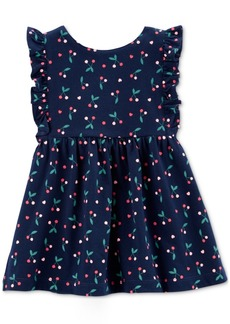 Carter's Baby Girls Cherry-Print Cotton Dress
