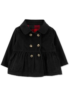 Carter's Baby Girls Corduroy Peacoat