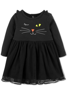 Carter's Baby Girls Cotton Cat Dress