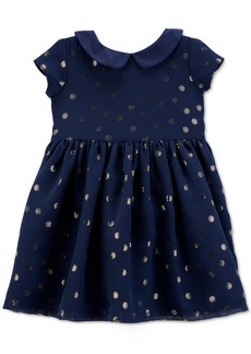 Carter's Baby Girls Crepe Glitter Dot Dress