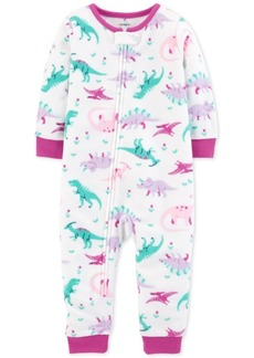 Carter's Baby Girls Dino-Print Pajamas
