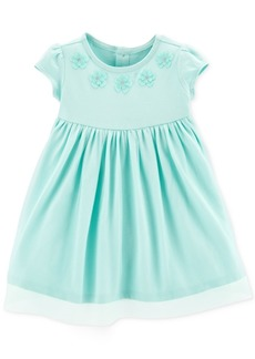 Carter's Baby Girls Embroidered Flower Tutu Dress