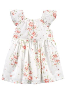 Carter's Baby Girls Floral Flutter Dress