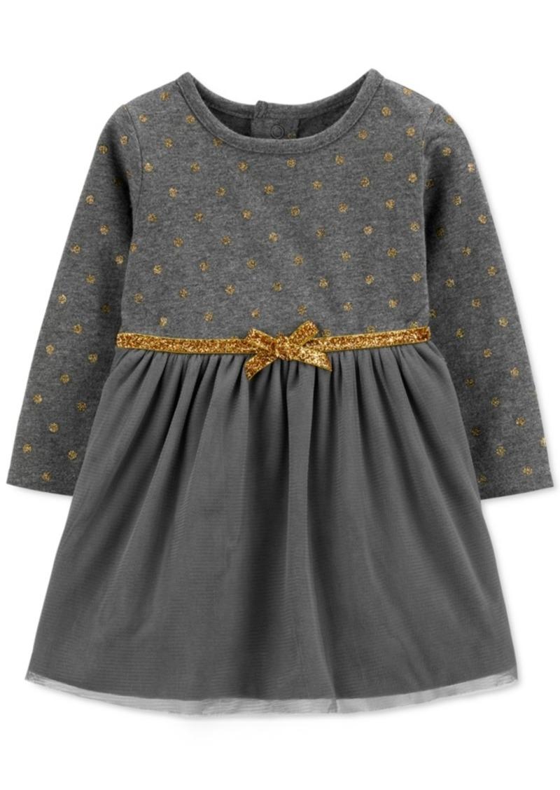 Carter's Baby Girls Glitter Dot Dress