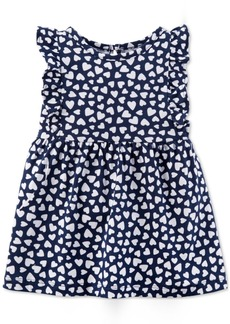 Carter's Baby Girls Heart-Print Cotton Sundress