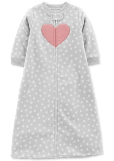 Carter's Baby Girls Heart Print Sleep Bag