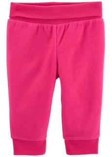 Carter's Baby Girls Hot Pink Fleece Pants