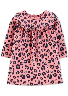 Carter's Baby Girls Leopard-Print Cotton Dress