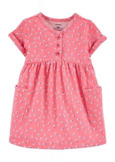 Carter's Baby Girls Polka Dot Jersey Dress