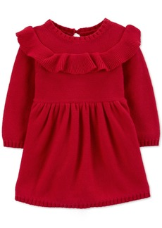 Carter's Baby Girls Ruffled Cotton Dress