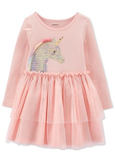 Carter's Baby Girls Sequined Unicorn Tutu Dress