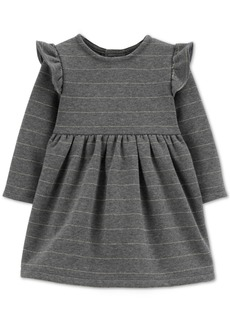 Carter's Baby Girls Striped Fleece Dress