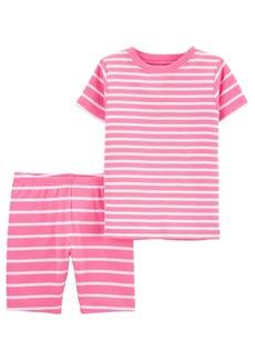 Carter's Baby Girls Striped Pajama Set, 2 Pieces