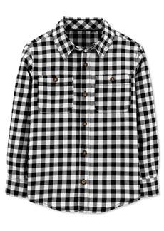 Carter's Big & Little Boys Cotton Gingham Check Button-Down Shirt