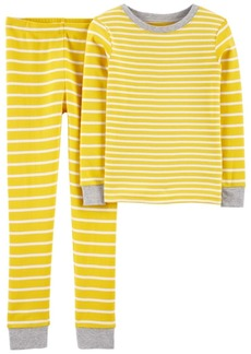 Carter's Big Boys 2 Piece Striped Snug Fit Pajama Set