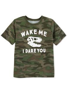 Carter's Big Boys Camo-Print Pajama Top