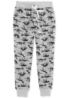 Carter's Big Boys Dinosaur-Print Jogger Pajama Pants