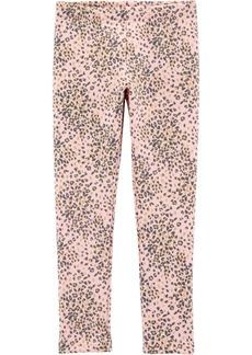Carter's Big Girl Leopard Cozy Fleece Leggings