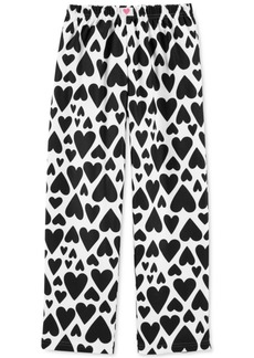 Carter's Big Girls Heart-Print Fleece Pajama Pants