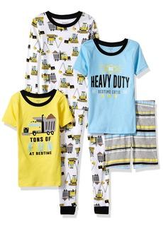 Carter's Boys' Little 5-Piece Cotton Snug-Fit Pajamas