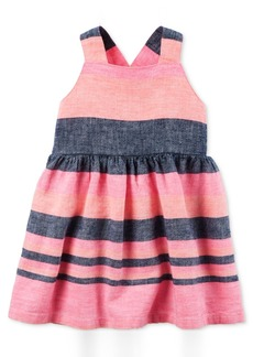 Carter's Colorblocked Fit & Flare Dress, Baby Girls (0-24 months)