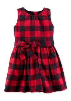 Carter's Cotton Flannel Plaid Dress, Little Girls (2-6X) & Big Girls (7-16)