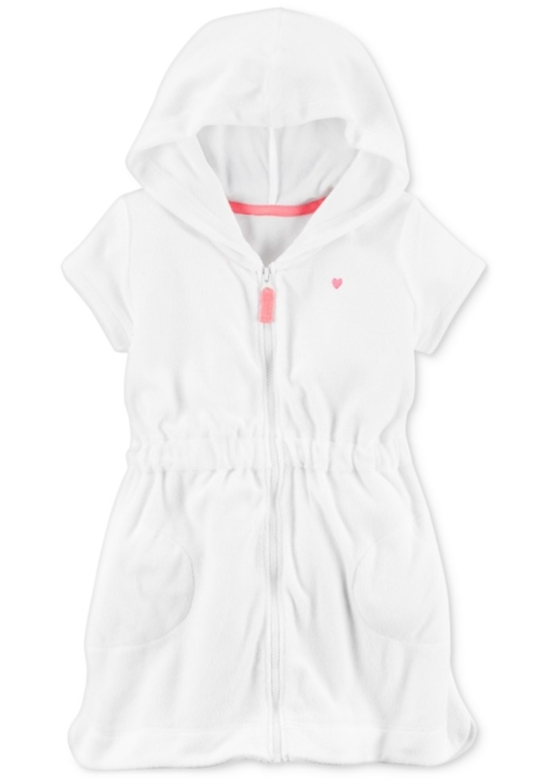 833f339062d9e Carter's Carter's Hooded Bathing Suit Cover-Up, Little Girls & Big ...